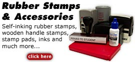 Order Rubber Stamps On-line!
